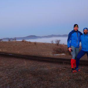 Alergare prin Câmpina, Bogdan, Catalin si Cosmin dupa prima urcare