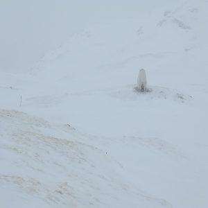 Încercări prin Făgăraş, monumentul alpinistilor