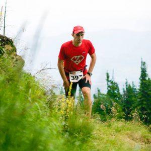 Cozia Mountain Run 2016, urcarea spre cabana Cozia