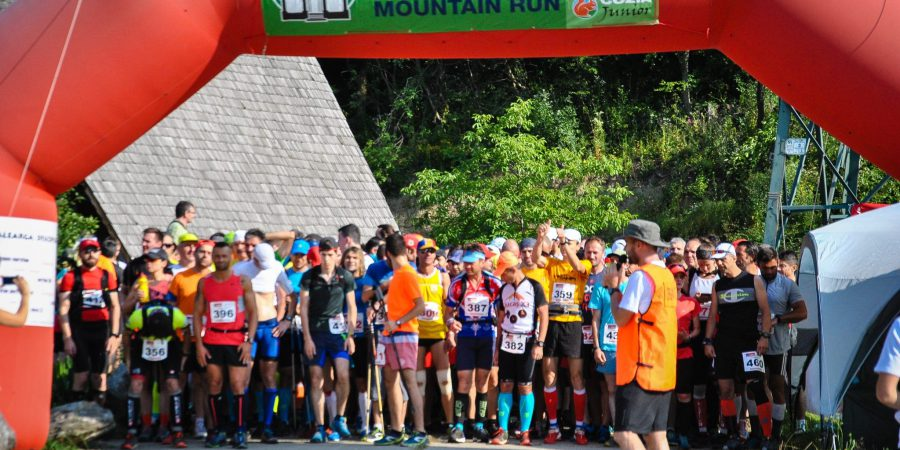 Cozia Mountain Run 2016, la start