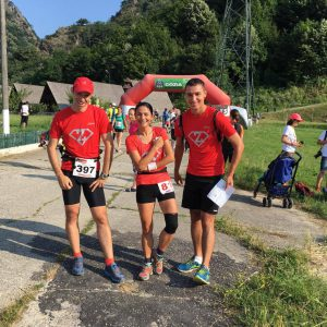 Cozia Mountain Run 2016, cu Sorina si Radu la start