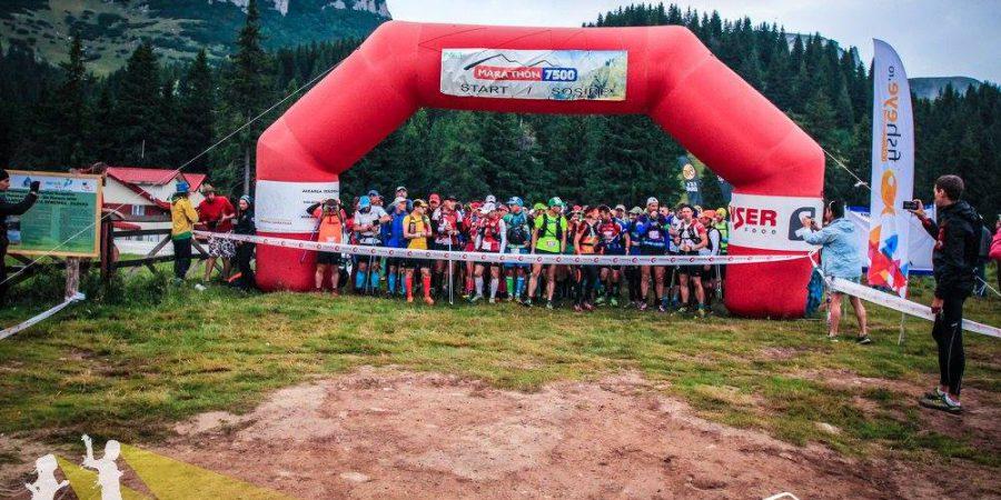 Marathon 7500, ediţia 2016, la start