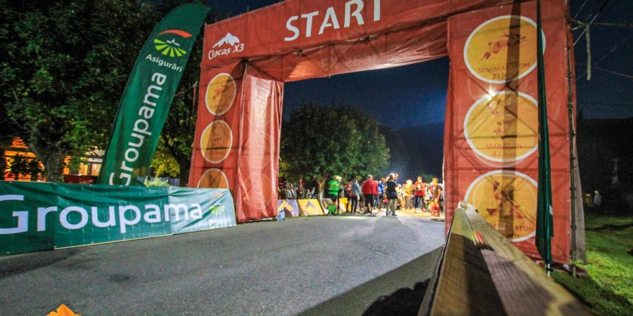 Maraton Ciucas X3 2016, start ultra