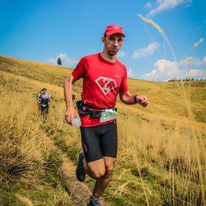 Maraton Ciucas X3 2016, inainte de cabana Ciucas