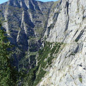 Alergare aeriană prin Bucegi, peretele Vaii Albe si Perete Albisoarelor