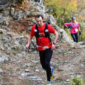 Rodopi ultra trail 2016, dupa km 26