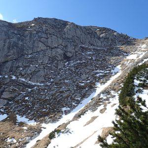 Trekking pe Creasta Bucşoiului, ultima urcare pana la iesirea din creasta