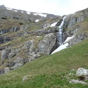 Alergare pe tura de hobby de 7500, cascada Ialomitei