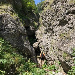 Cataratura pe Valea Comorilor, saritoarea problematica