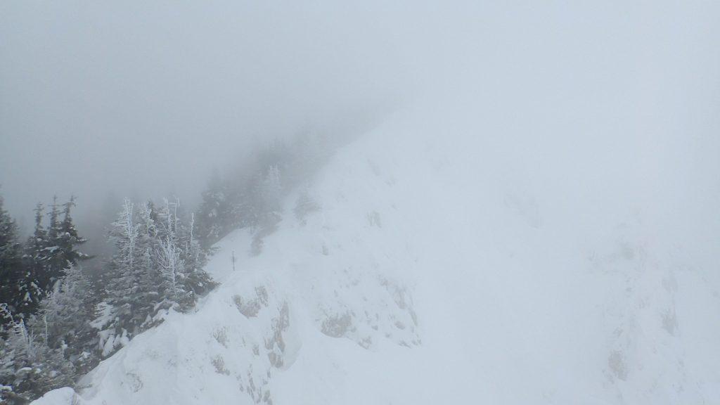Pe creasta cu ceata
