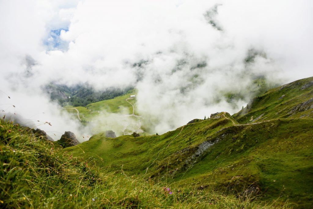 O vale pe langa lacul Schuhflicker