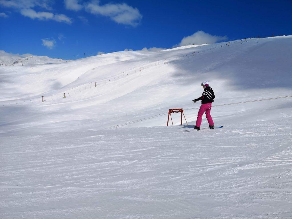 Ziua de ski. Pe Valea Dorului, cred