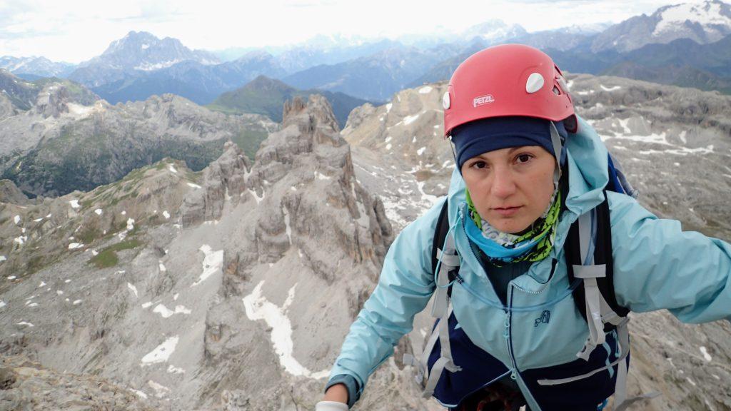 Pe varful Cima Fanis Sud (2980m)