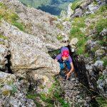 Trekking și cățărare pe Valea Colților
