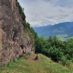 Escaladă pe granit în zona Predazzo