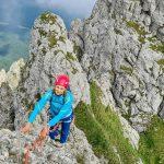 Cățărare pe Acele Morarului, a doua parcurgere de vară